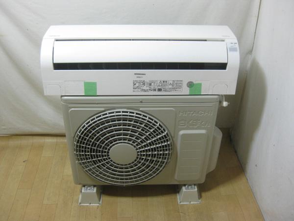 日立 白くまくん のエアコンを大阪で買取ました。画像2